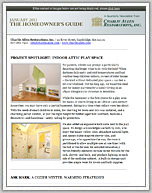 January 2013  Newsletter