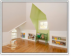 Indoor Attic Play Space