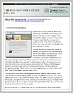 Fall 09 Newsletter