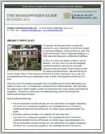Summer 11 Newsletter